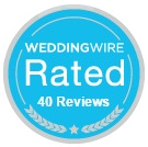 40 Reviews on WeddingWire
